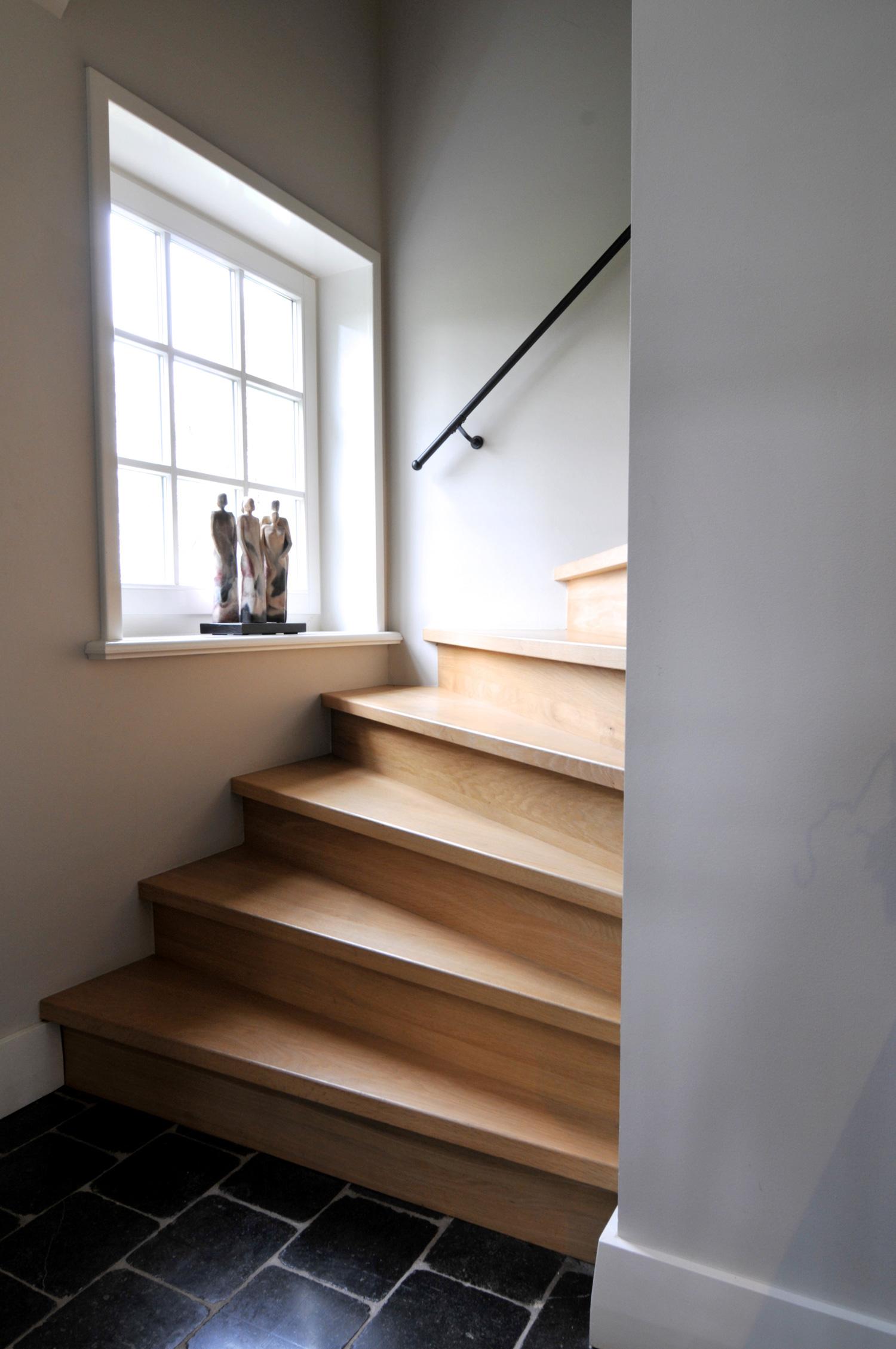 Trap laten maken wij maken maatwerk trappen geheel naar for Stalen trap maken